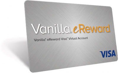 The Vanilla® eReward Visa® Cards for Rewards & Incentives