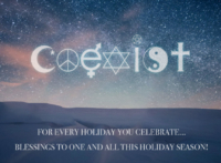 Coexist Holiday Message